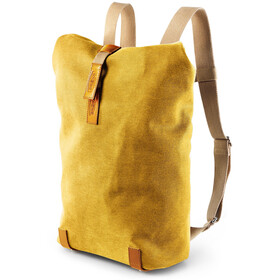Brooks Pickwick Canvas - Mochila bicicleta - Small 12l amarillo